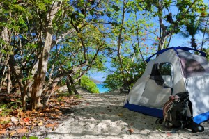 virgin islands camping