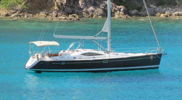 virgin islands charter yacht